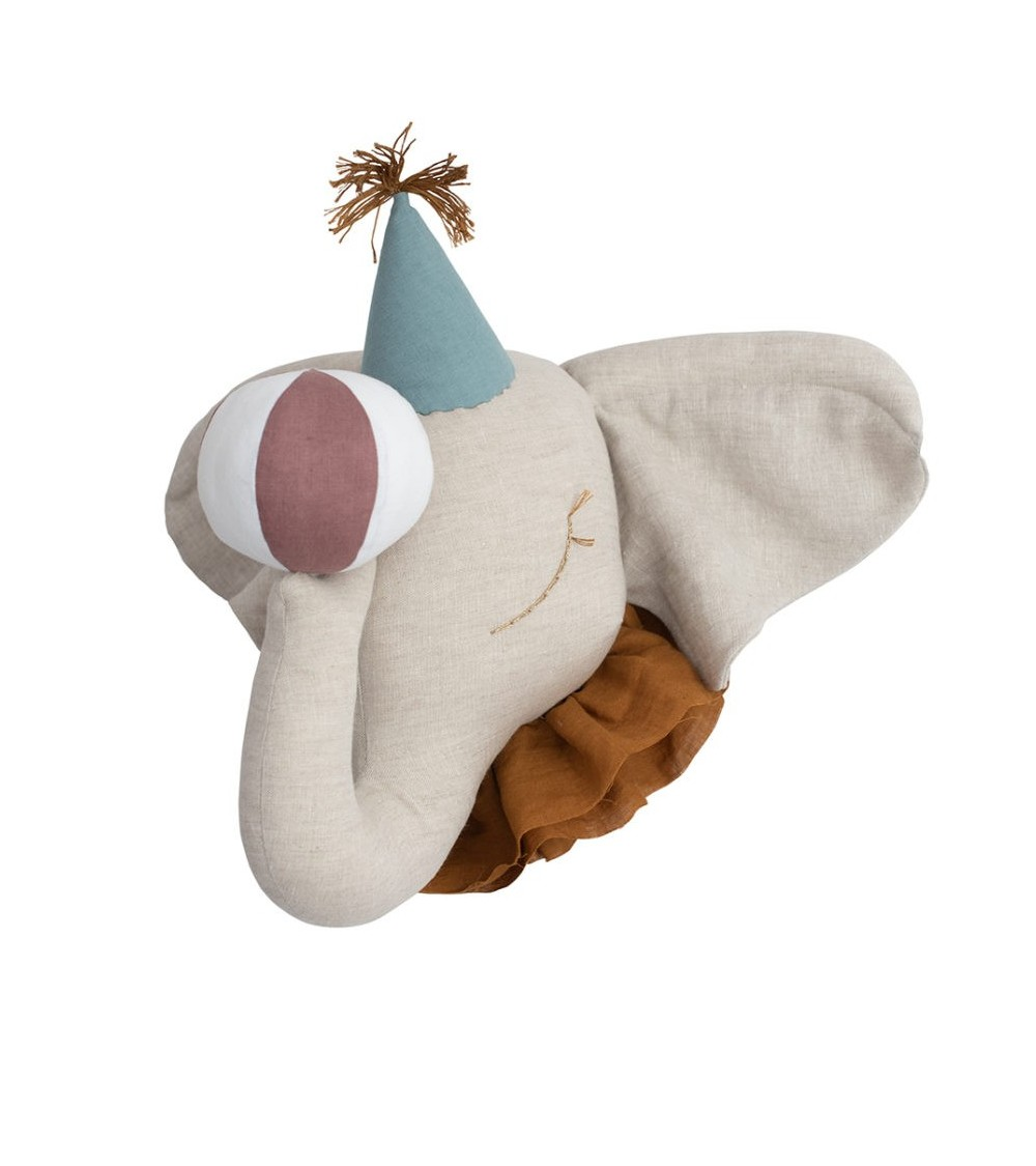 Słoń Cyrkowy Lniany