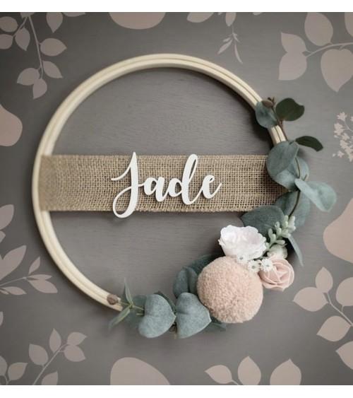 Obręcz dekoracyjna Jade...