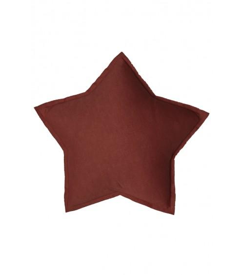 Poduszka gwiazdka ceglana
