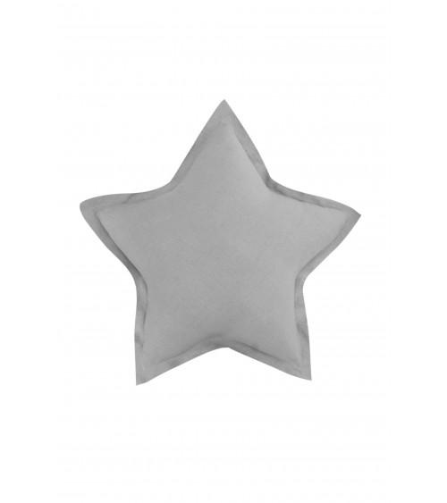 Lniana poduszka gwiazdka