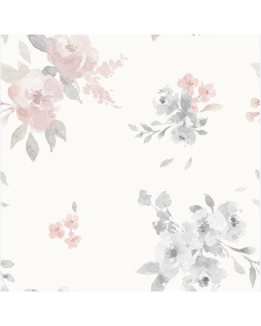 Tapeta Malowane Kwiaty