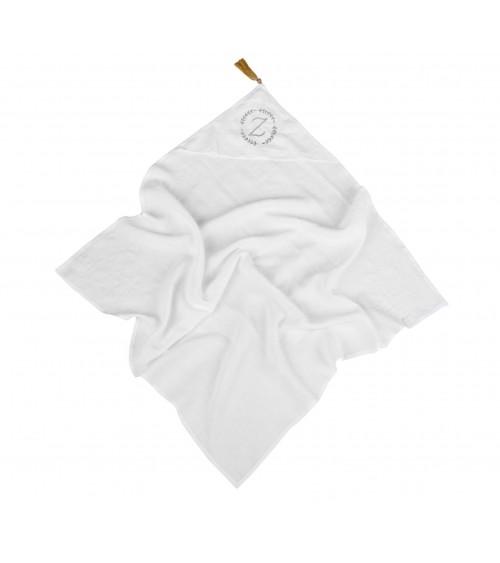 Lniany Otulacz Personalizowany Biały