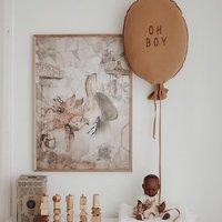 Elementy wyposażenia pokoju dziecięcego to specjalność naszego sklepu ✨  Znajdziecie w nim mnóstwo dodatków , miedzy innymi ten przepiękny balonik od @malomi_kids 👌  Zajrzyjcie koniecznie 💫  •   Details of the children's room are the specialty of our store ✨   You will find a lot of accessories in it, including this beautiful balloon from @malomi_kids 👌   You must check it out 💫  #kidsroom #kidsspace #kidsinteriors #pokojdziecka #pokojdziewczynki #pokojchlopca #homdecor #kidsroomdecor #kidsroomdesign #details #kodsroomdetails #balon #balloons