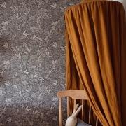 Baldachimy lniane i bawełniane to niezmiennie nasz produkt 🔝  To jedna z pierwszych dekoracji , która pojawiła się w naszym sklepie i niezmiennie od wielu lat zdobi pokoje Waszych dzieci ✨  Mamy ich szeroki wybór , wiec kto jeszcze nie ma koniecznie sprawdźcie nasza ofertę 💫  Miłego weekendu ☀️  •   Linen and cotton canopies are invariably our product 🔝   This is one of the first decorations that appeared in our store and has been decorating your children's rooms for many years now ✨   We have a wide selection of them, so for those who don't have one, check out our offer 💫   Have a nice weekend ☀️  #decoration #baldachim #conopy #natural #colors #detailing #details #pillow #len #lino #kidsroom #kidsspace #kidsinteriors #kinderzimmer #pokojdziecka #pokojdziewczynki #pokojchlopca